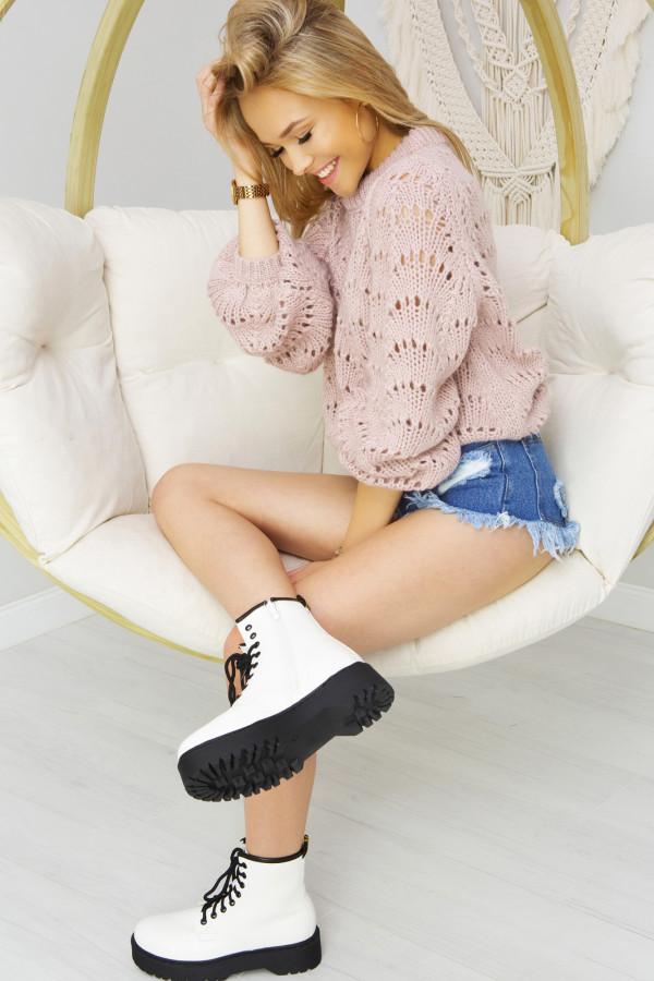 Sweter Damski Sia Różowy