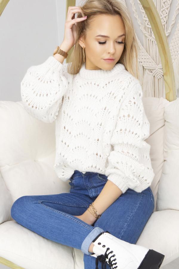Sweter Damski Sia biały
