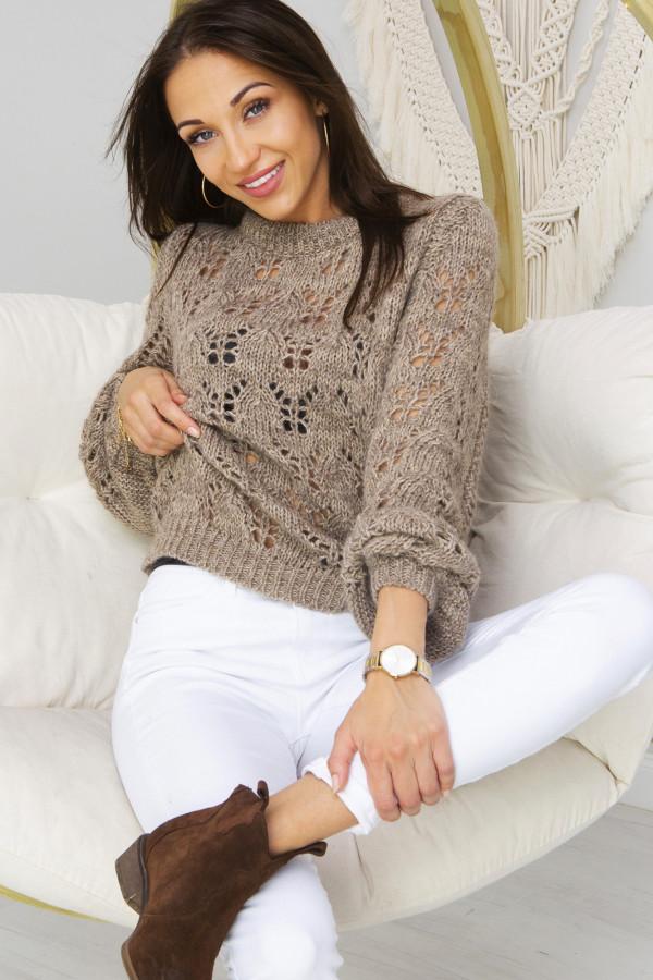 Sweter Damski Naomi beż
