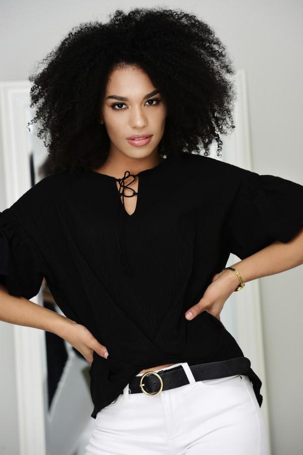 Bluzka NERELLE czarna 011
