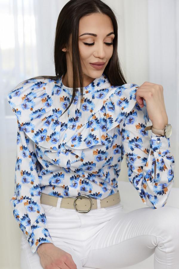 Bluzka EMILY kwiatki błękitne 001
