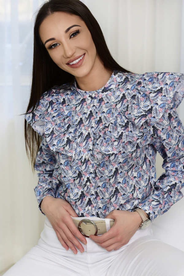Bluzka EMILY wzorzysta 001