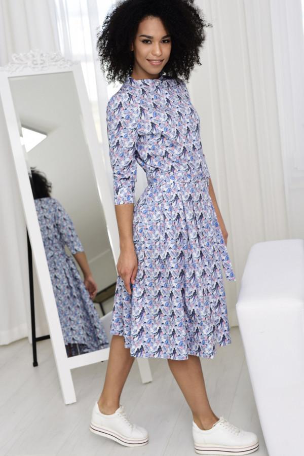 Sukienka JULIA wzorzysta 002