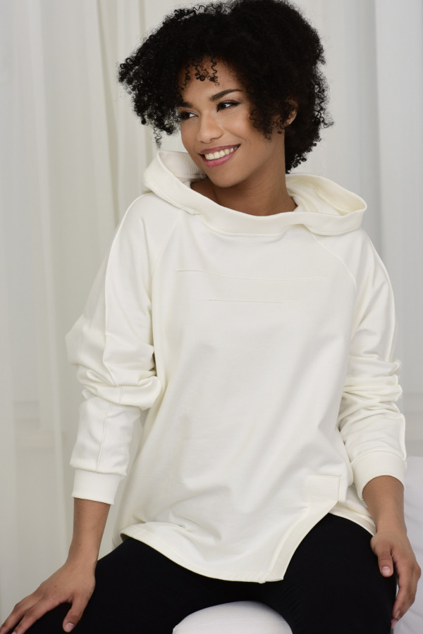 Bluza dresowa LISA biała 035