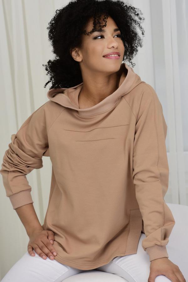 Bluza dresowa LISA BEŻOWA 035