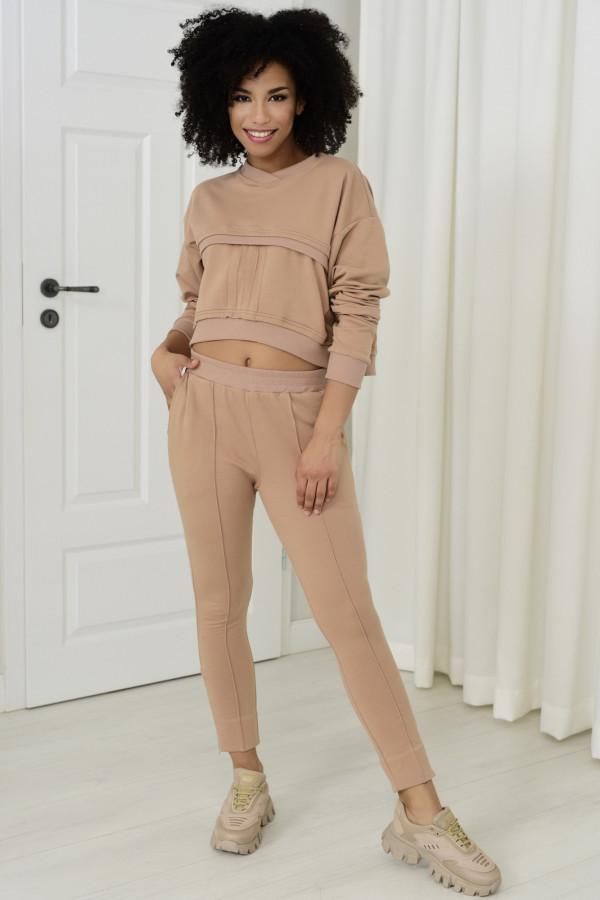 Spodnie dresowe Sheila beż 031