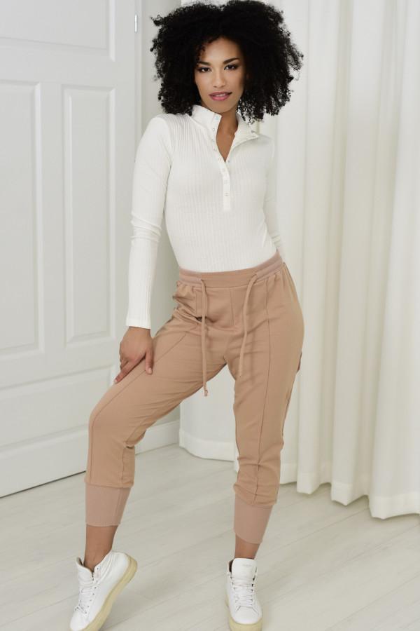 Spodnie dresowe Everly beż 033