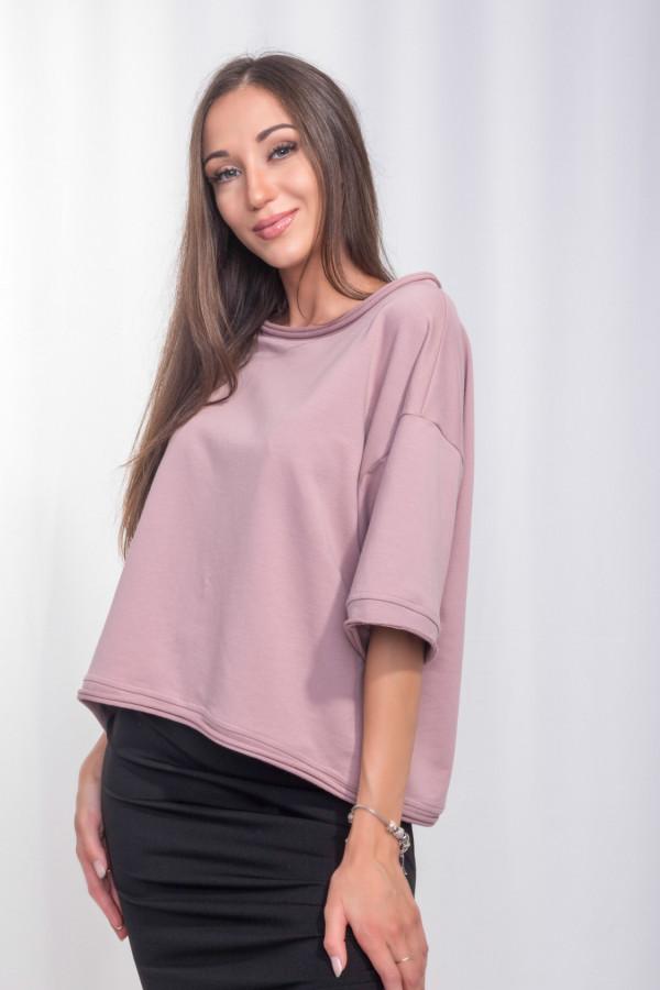 Bluzka Aurora róż 059